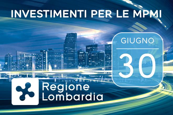 PMI Lombardia, supporto ai nuovi investimenti